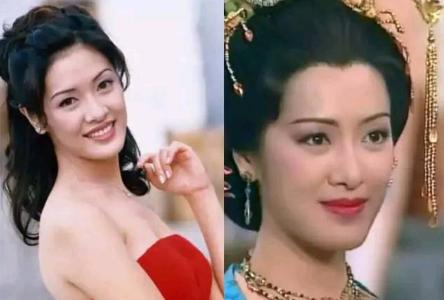 身为港姐冠军的向海岚,演艺生涯曲折,是否还记得她塑造的杨贵妃