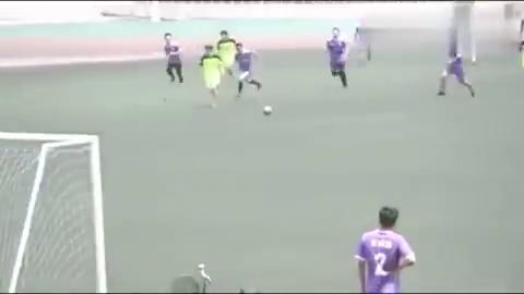 山西某中校的校园足球联赛,大家看看这是什么水平?