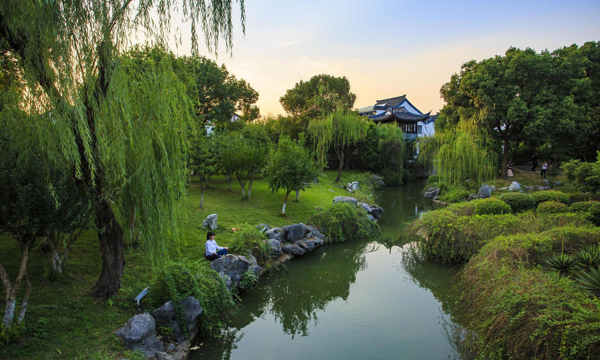 苏州园林的柔美,你一定要去看看,江南的标志就是它的简单