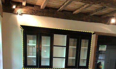 比起方方正正的柜子,喜欢这种上窄下宽的,中间1分为3收纳细分