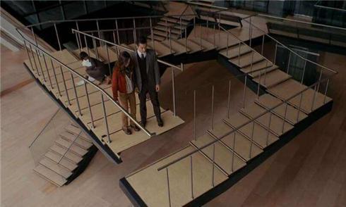 彭罗斯阶梯真走不出去?英国数学家已经证实,荷兰画家还画了出来