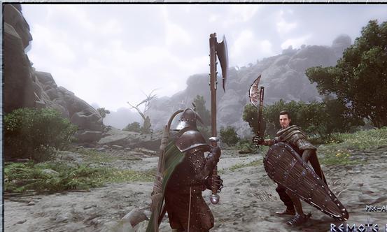 开放世界ARPG《远程骑士OL》上架Steam 支持简中