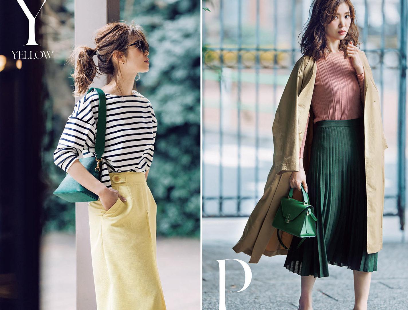 """秋天优雅风:""""高级感衬衫+半身裙"""",穿出自己的品味与温柔"""