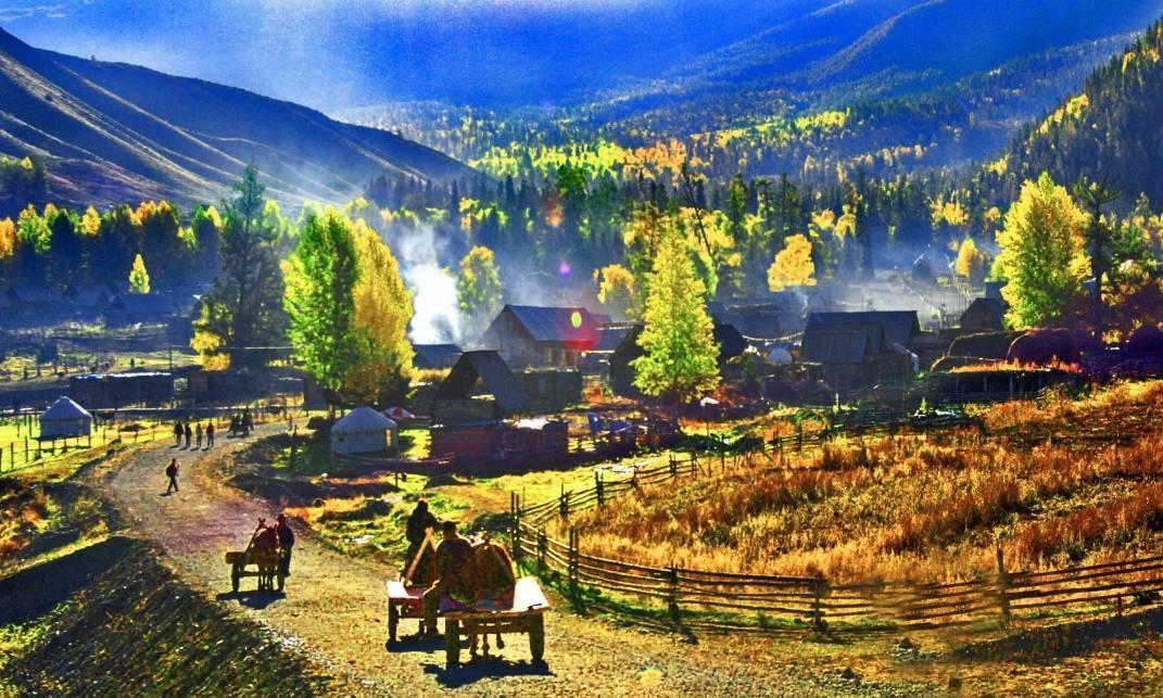 比北京香山红叶景区大一百余倍,被称为人间的红叶奇观
