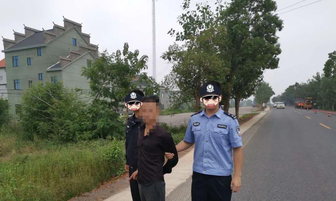 有人在鄱阳县飞车抢夺疯狂作案,民警跨省追捕!