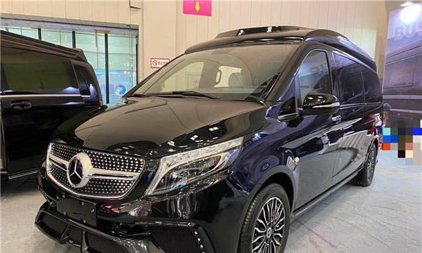 2020款奔驰威霆七座商务车改装高顶迈巴赫版豪华MPV