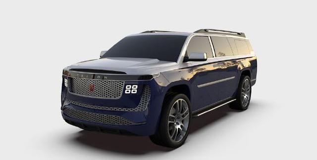 美国造车新势力Triton发布Model H
