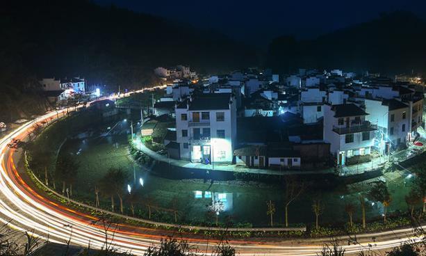 """江西一古村落,被誉为""""中国最圆的村庄"""",当地人称""""脸盆村"""""""