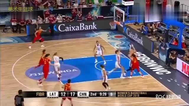 女篮世界杯_在王思雨和韩旭带领下中国队高歌猛进