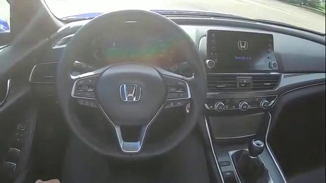视频:新提的本田雅阁2.0T,开上路跑几圈,才感觉买对了