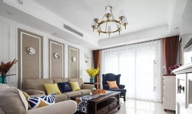 140㎡现代美式风格家居设计,清新优雅,堪称完美