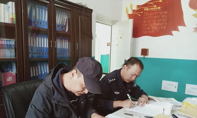 部门动态丨扎陵湖派出所与辖区学校签订责任书