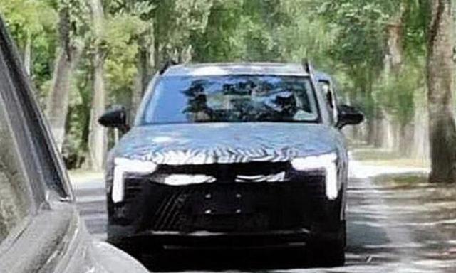 全新奔腾SUV路试谍照曝光新车有望年底上市