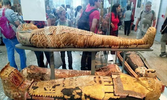 扫描木乃伊后才发现多残忍:内部不一定是人类,活生生被制成干尸
