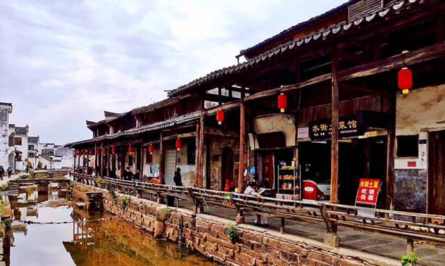 安徽唐模古村,中国水口园林第一村,还是电影天仙配的取景地