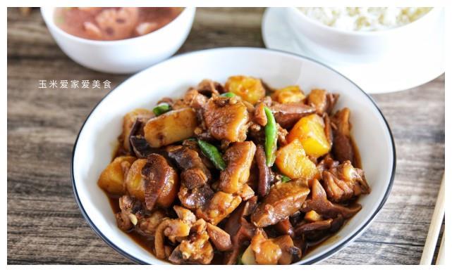黄焖鸡要想好吃,只放黄豆酱还不够,多加一种酱,酱香浓郁味道好