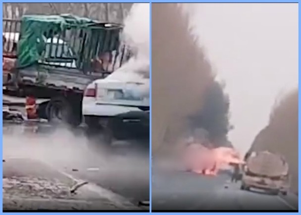 吉林乾安3车相撞起火,致12死事故调查结果:处分18名干部民警