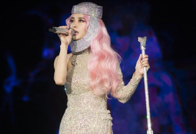 蔡依林巡演重启,精美舞台造型惊艳全程,歌好人美还说40岁真好