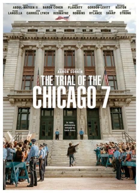周日热推:电影《芝加哥七君子审判》、综艺《说唱新世代》……