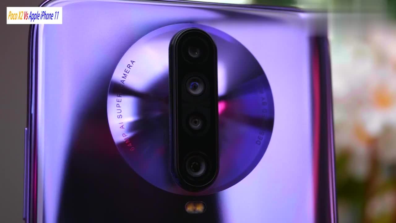 小米 Poco X2 Vs iPhone 11拍照对比后置四摄火拼苹果双摄