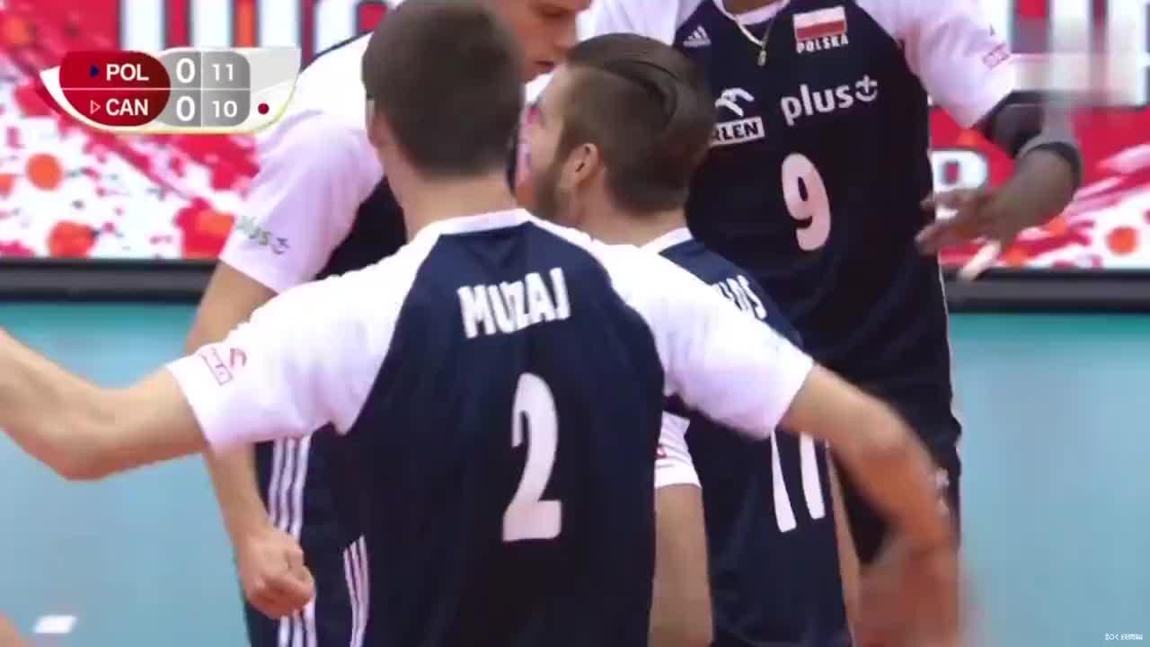 卡罗尔·克罗斯,波兰男排队员、2019年世界杯比赛亮点