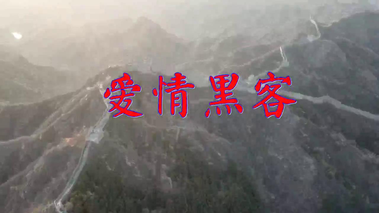 DJ何鹏、张冬玲的一首《爱情黑客》,惹人陶醉,静静聆听