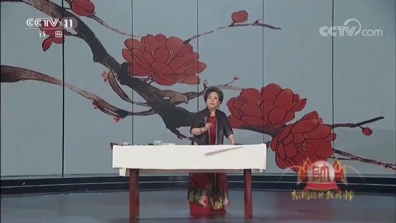 京剧大师张君秋之女张学龄演唱京剧《打龙袍》经典选段!