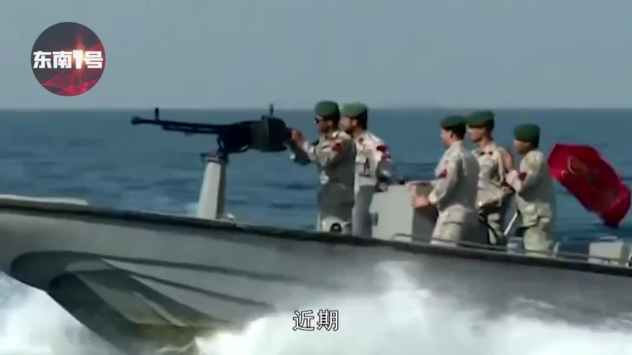 伊朗突然发难!印度油轮在海峡被强行扣押,美军战舰营救失败