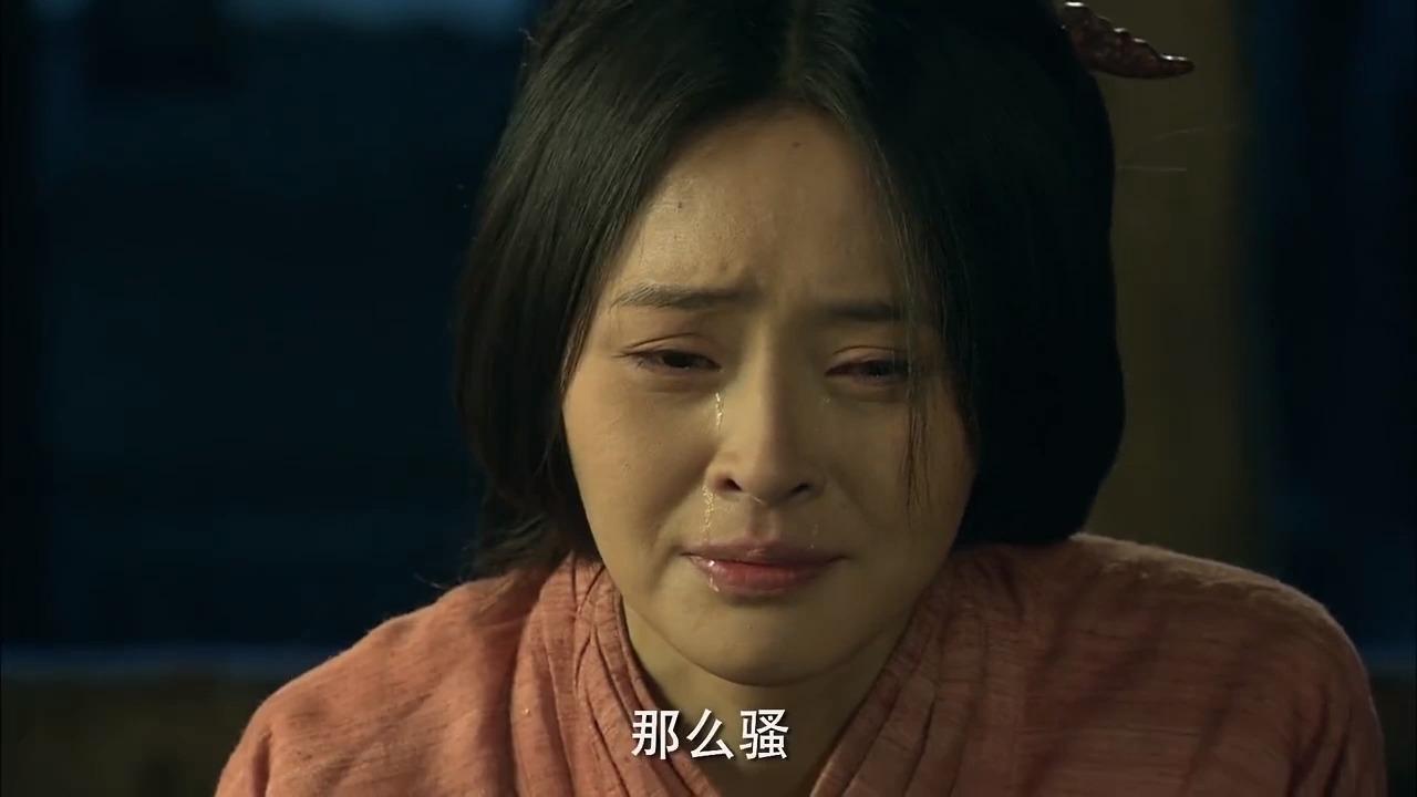 楚汉传奇:曹氏让刘邦忘了自己,刘邦永世不忘,二人哭成一团