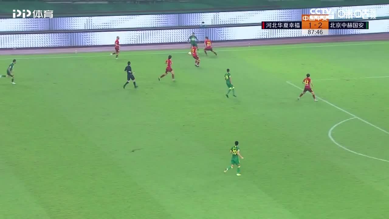 李磊交给奥古斯托,奥古斯短传阿兰,阿兰低射球门右下角得手!