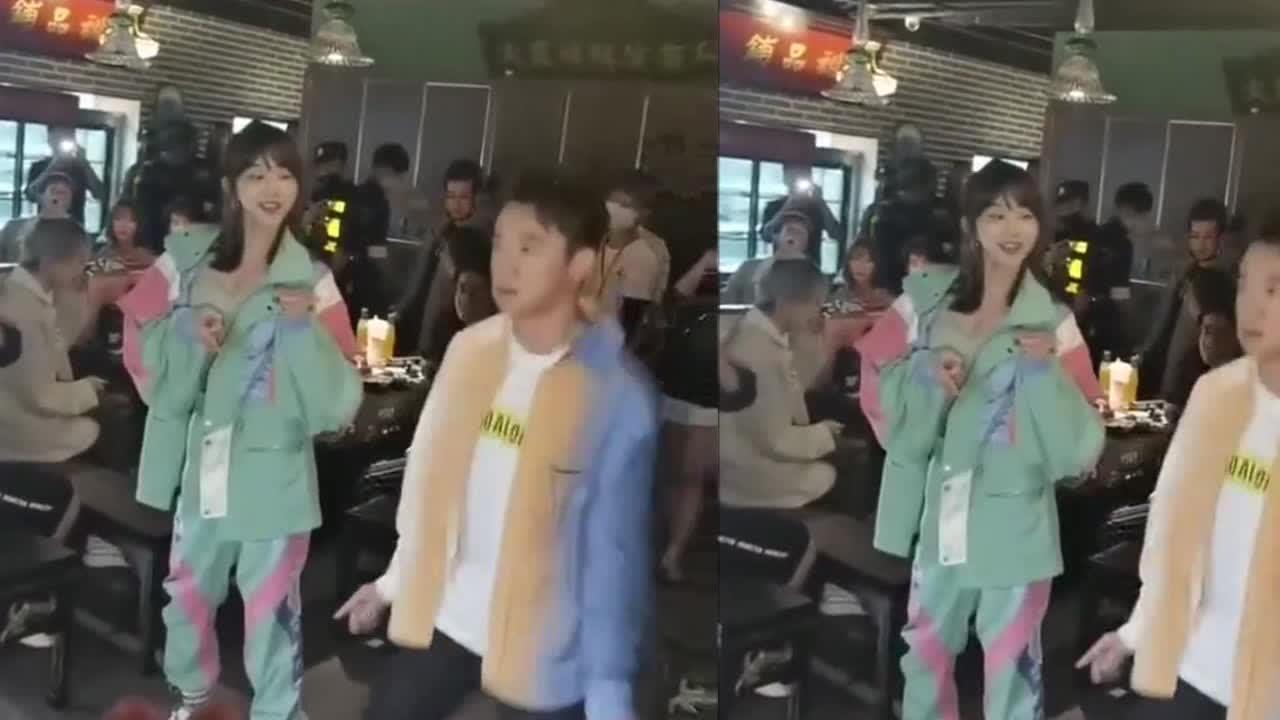 郑恺火锅店分店开业,不见老婆苗苗,与网红跳舞气氛欢乐