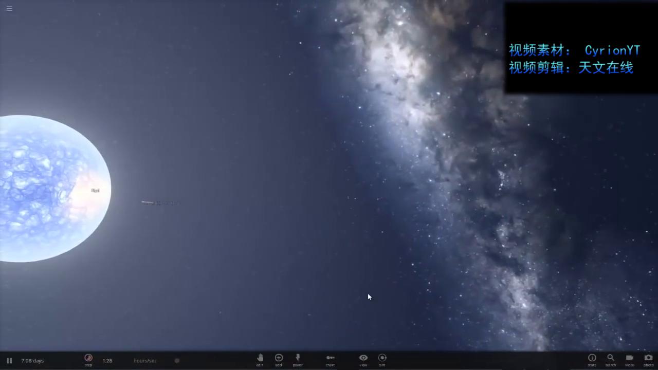 如果中子星与黑洞接近会发生什么?