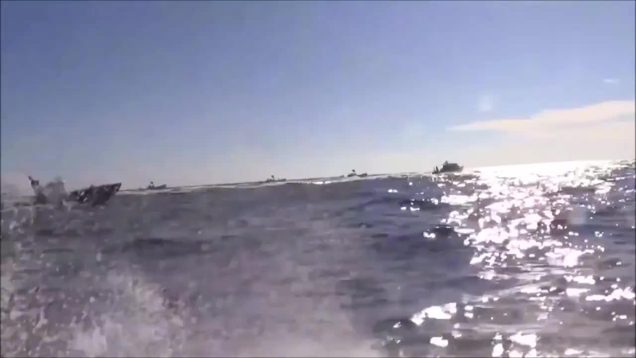 美国空军特种作战科目:海上装备空投与收集