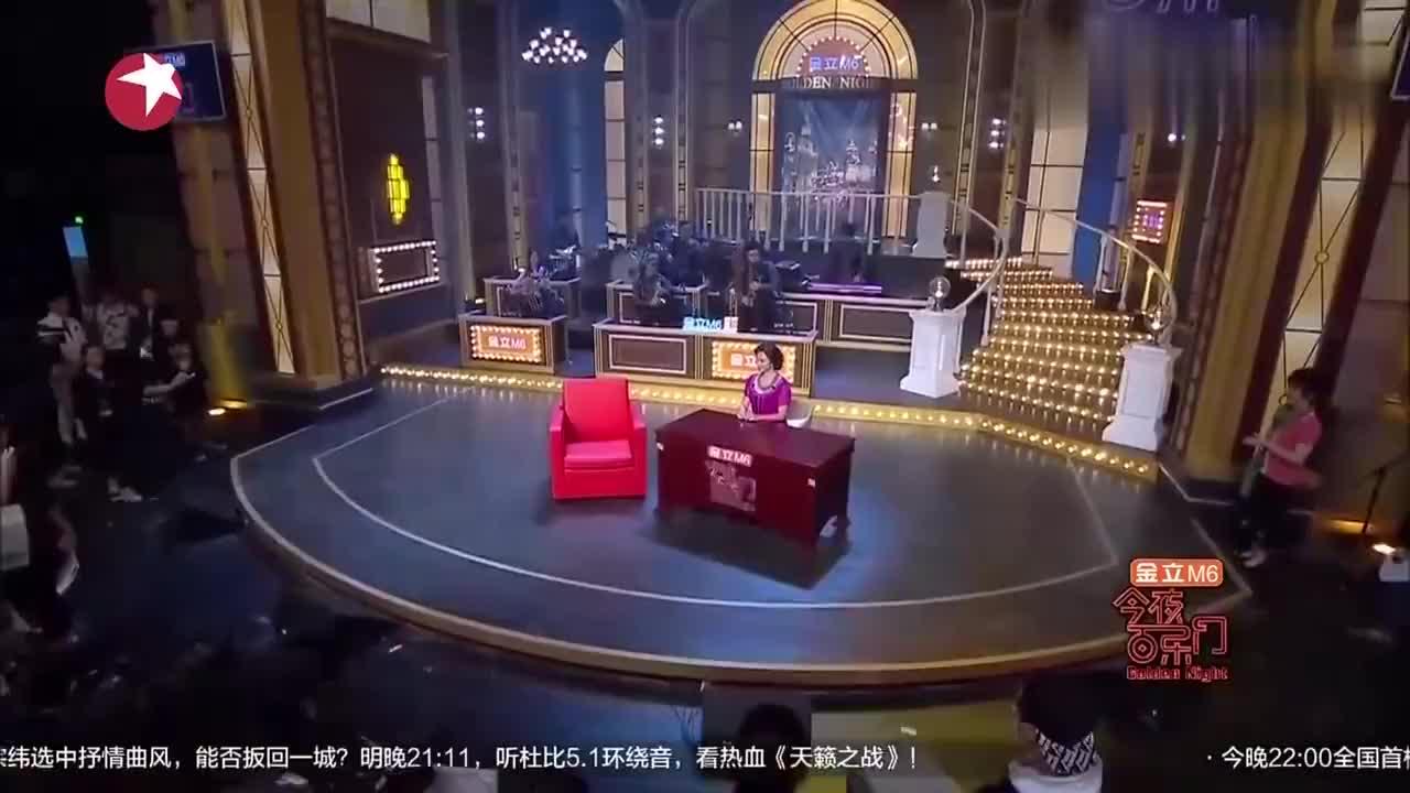 百乐门:金星问张柏芝想找有钱的还是没钱的,张柏芝:别花我的钱