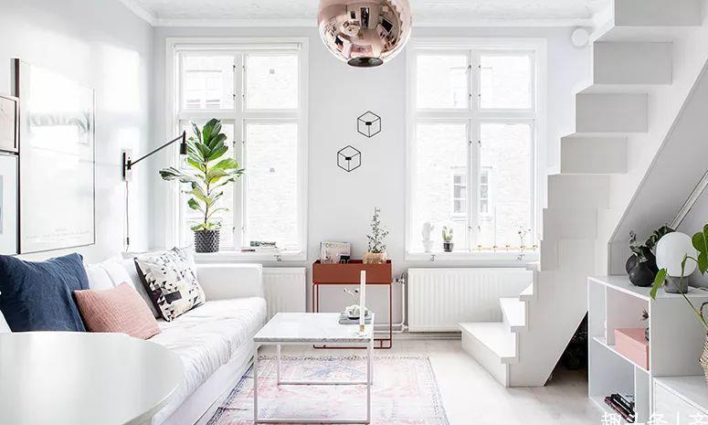 loft小公寓难得一见的少女心,有这样的房子还怕找不到对象?