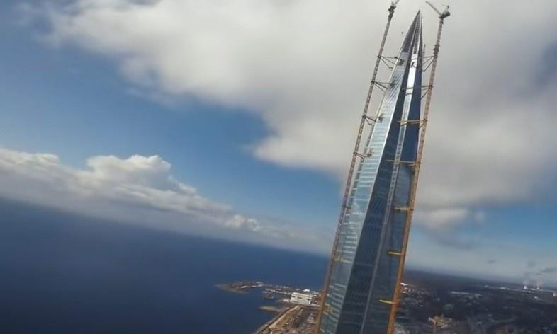俄罗斯最高的建筑,位于圣彼得堡,高462米的拉赫塔
