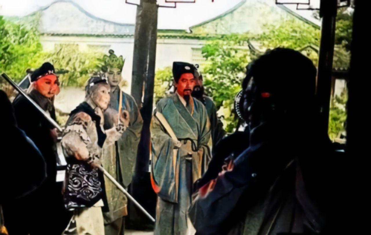 9张西游记幕后照:主演每集片酬最高一百多元,图九朱琳颜值超高