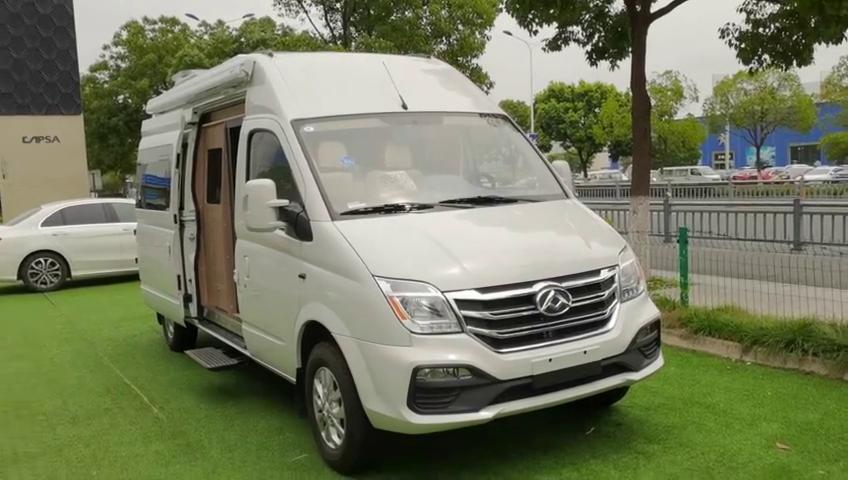 视频:大通V80长轴现车高配低价最适合居家旅行的你