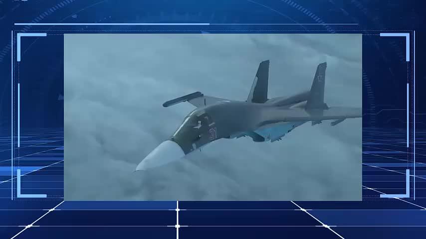 俄罗斯动用苏-34空袭伊德利卜叛军,精确制导炸弹摧毁大量车辆