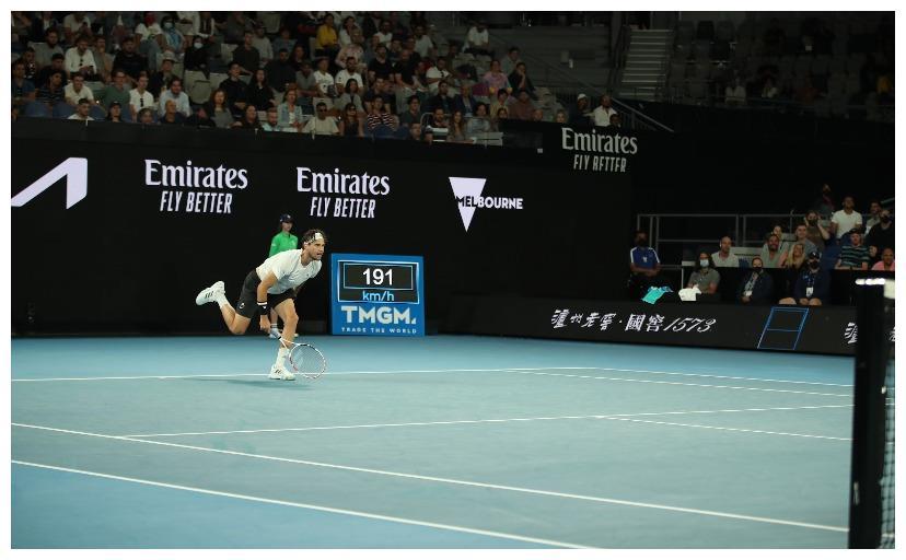 战报|2021澳网:蒂姆大逆转克耶高斯,顺利晋级16强