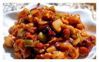 这三道川菜分享给大家,宫保鸡丁  麻婆豆腐  水煮肉片