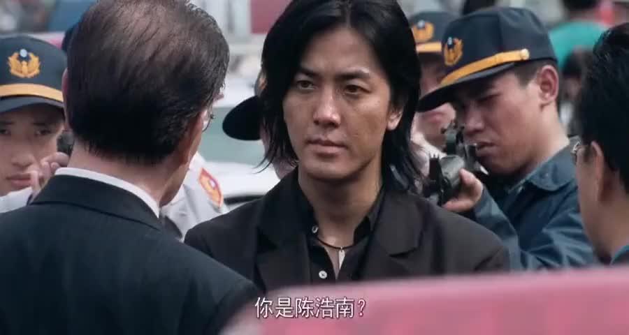 浩南哥的淡定帅气,山田组老大的人脉关系,看完不得不服啊