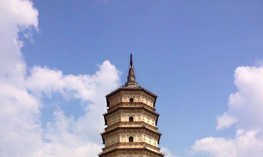 内蒙古有座辽代佛塔,是塔寺建筑之精华,却与时代不符