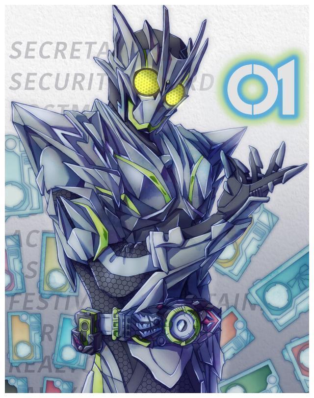 假面骑士金属零一shf实物图:科技感极为强烈,完美还原剧中形象