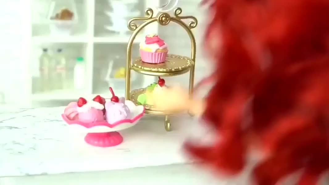 迪斯尼公主的生日晚会,模拟过生日玩游戏