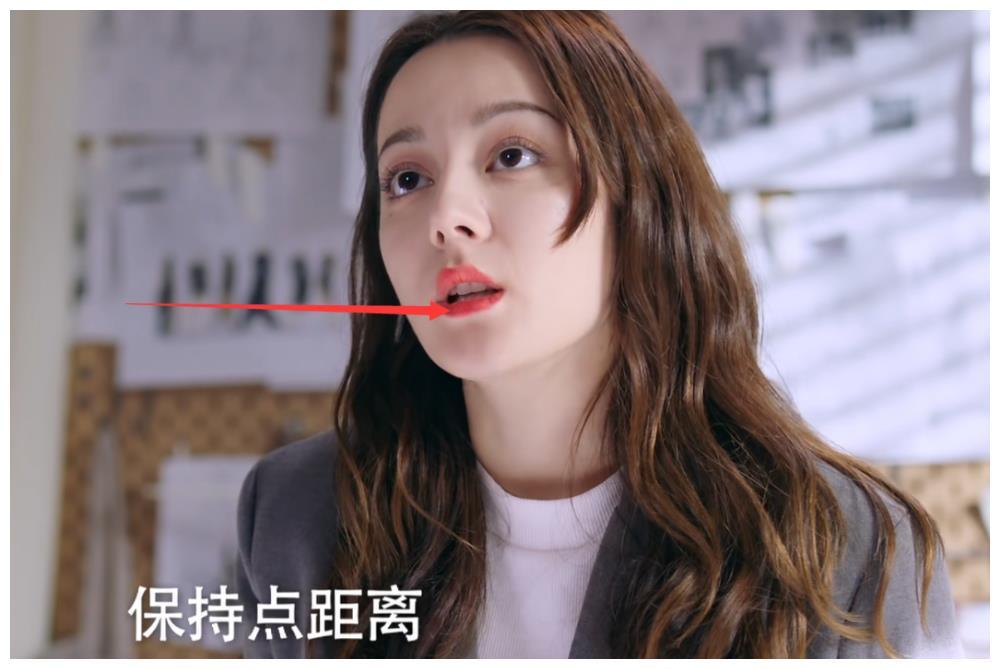 都说女明星妆容精致,看清热巴涂完口红后唇形,好像明白了点啥