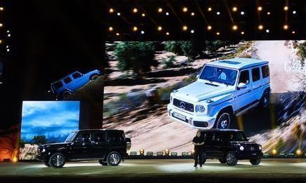G6奔驰G350正式上市,改成2.0T,还是那辆SUV?