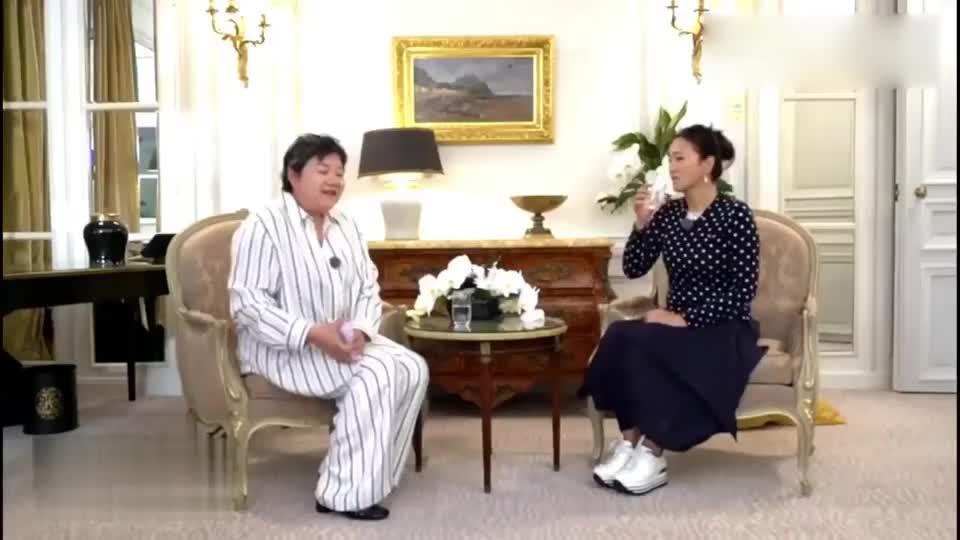 洪晃对话巩俐,讲述她第一部电影《红高粱》见导演试戏的过程