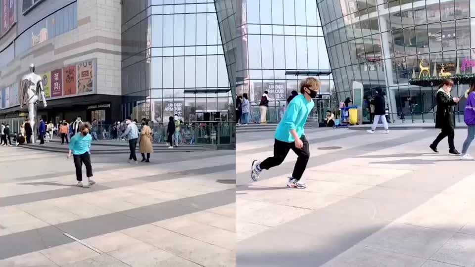 摄影师内心:这是个啥玩意跑这么快,我追都追不上!