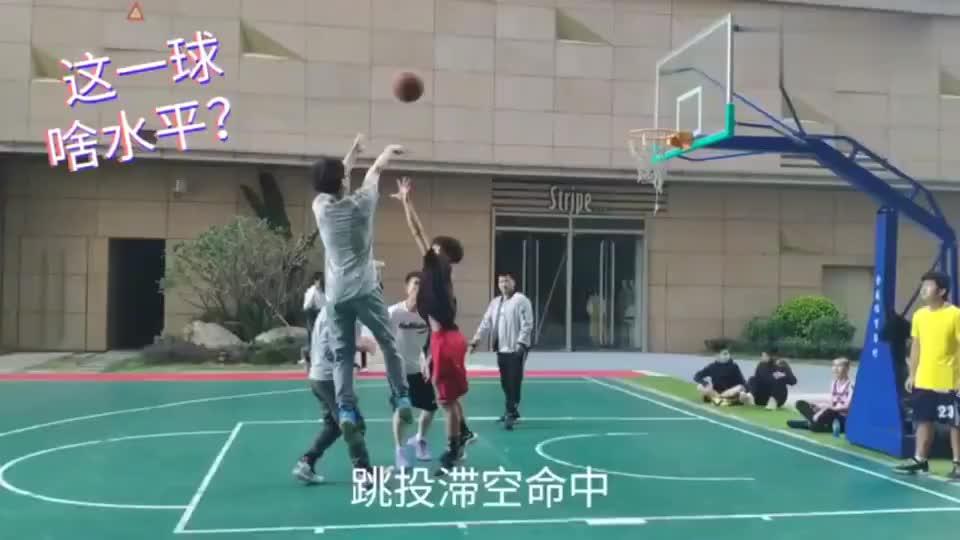 篮球:曾经在广东大学校队打替补,现在野球场上还能这么豪横